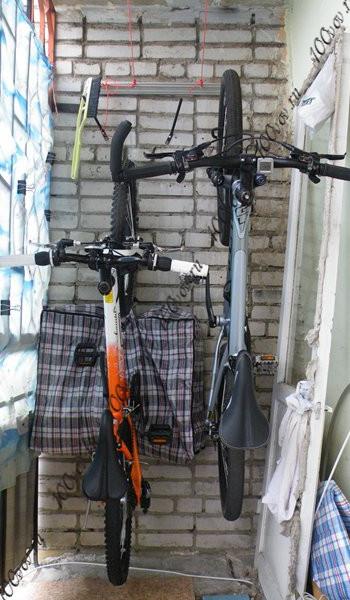 Как хранить велосипед в квартире 100 вопросов.